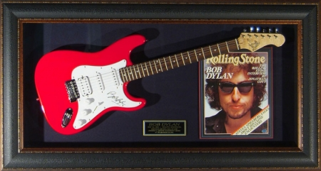 Bob Dylan Guitar - Fundraising Auctions