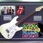 Rolling Stones Autographed Guitar